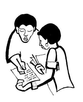 two students are discussing