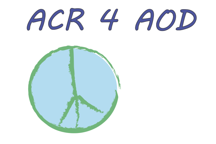 ACR for AOD with Peace Sign