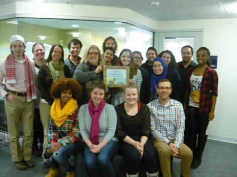 OSCR Staff with Planet Blue Certificate